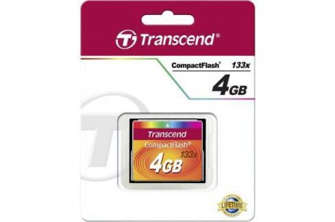 Карта памяти Compact Flash 4Gb Transcend 133x Type I TS4GCF133 Карты памяти