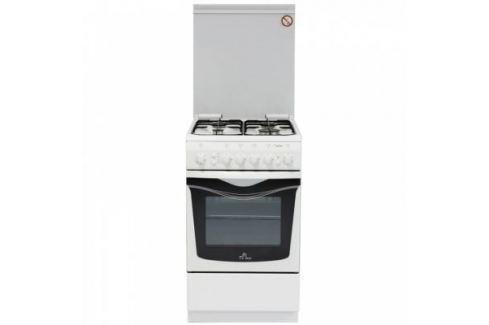 Газовая плита De Luxe 506040.01г чр белый Газовые плиты
