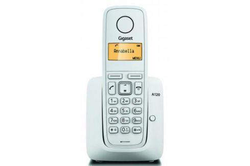 Радиотелефон DECT Gigaset A120 белый DECT-телефоны