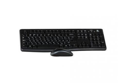 Клавиатура + мышь Logitech MK120 USB черный (920-002561) Комплект клавиатура + мышь