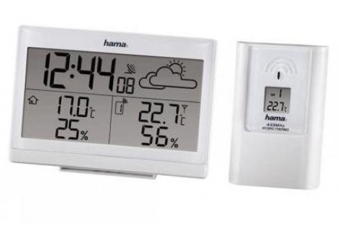 Метеостанция Hama H-113986 EWS-890 белый Погодные станции