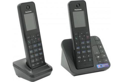 Радиотелефон DECT Panasonic KX-TGH222RUB черный DECT-телефоны
