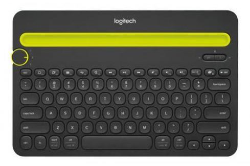 Клавиатура Logitech K480 Multi-Device Keyboard Bluetooth черный 920-006368 Клавиатуры