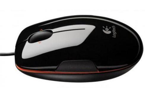 Мышь проводная Logitech M150/LS1 Laser Corded Grape Flash Jaffa красный чёрный USB 910-003753/910-003744 Мыши