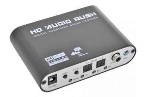 Декодер ORIENT DAC0406/N 1xJack3.5+2xSPDIF - 6xRCA Кабели для аудио