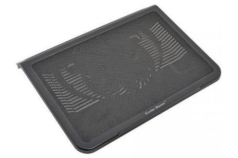 """Подставка для ноутбука до 15"""" Cooler Master NotePal L1 R9-NBC-NPL1-GP пластик/сталь 1100-1500об/мин 21db черный Подставки для ноутбуков"""