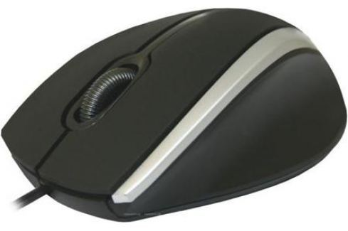 Мышь проводная DEFENDER MM-340 Black/Grey чёрный серый USB 52340 Мыши