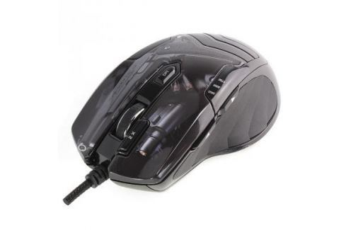 Мышь проводная Crown CMXG-703 Colt чёрный USB Мыши