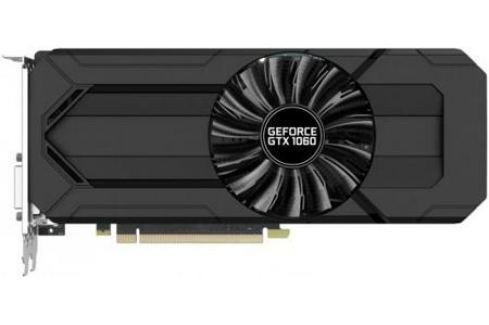 Видеокарта 6144Mb Palit GeForce PA-GTX1060 STORMX 6G PCI-E 192bit GDDR5 DVI HDMI DP HDCP NE51060015J9-1061F Retail Видеокарты