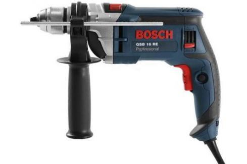 Ударная дрель Bosch GSB 16 RE БЗП 750Вт Дрели