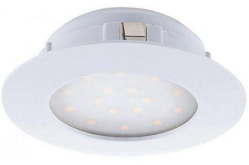 Встраиваемый светодиодный светильник Eglo Pineda 95867 Светильники встраиваемые