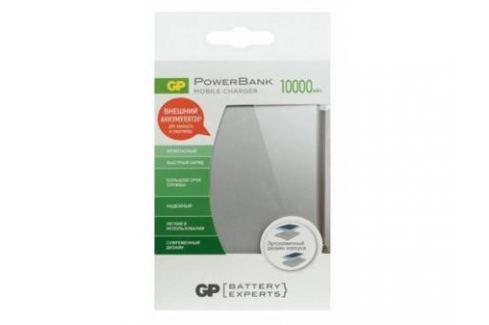 Внешний аккумулятор Power Bank 10000 мАч GPBI GPFP10MSE-2CRB1 серебристый Внешние аккумуляторы для сотовых телефонов и планшетов