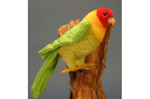 Мягкая игрушка попугай Hansa Каролинский искусственный мех разноцветный 17 см 5135 Животные