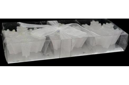 Набор свечей Winter Wings Снежинки 7 см 3 шт Сервировка стола и свечи