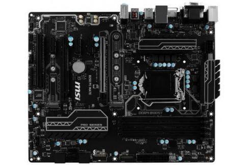 Материнская плата MSI B250 PC MATE Socket 1151 B250 4xDDR4 2xPCI-E 16x 1xPCI 3xPCI-E 1x 6 ATX Материнские платы