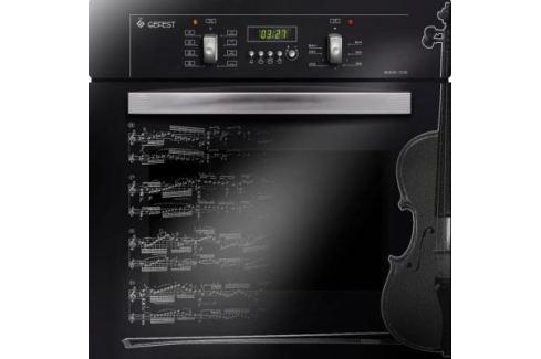 Электрический шкаф Gefest ДА 622-02 Д1 черный Встраиваемые электрические духовые шкафы