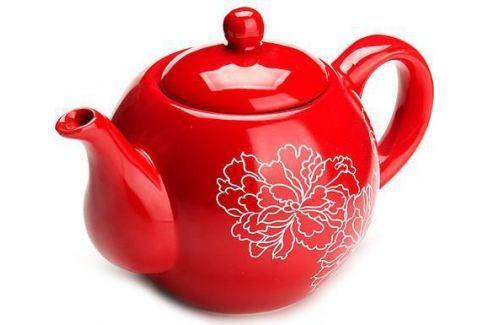 Чайник заварочный Loraine LR-25839 красный 0.95 л керамика Чайники