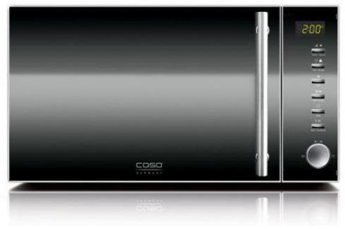 СВЧ CASO MG20 Ceramic Menu 800 Вт чёрный серебристый Микроволновые печи