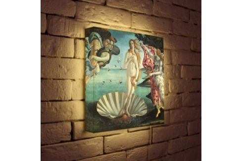Лайтбокс Боттичелли Рождение Венеры 35x35-139 Светильники квадратные