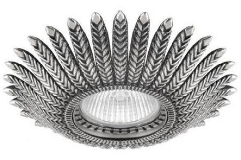 Встраиваемый светильник Donolux N1552-Old Silver Светильники встраиваемые