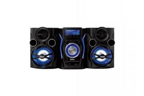 Минисистема DVD BBK AMS110BT 2х60Вт синий Музыкальные центры