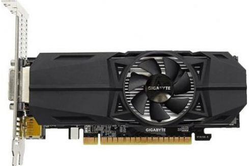 Видеокарта 4096Mb Gigabyte GeForce GTX1050Ti PCI-E 128bit GDDR5 DVI HDMI DP GV-N105TOC-4GL Retail Видеокарты
