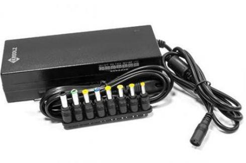 Блок питания для ноутбука Kreolz NPA121 8 переходников 120Вт Зарядные устройства для ноутбуков