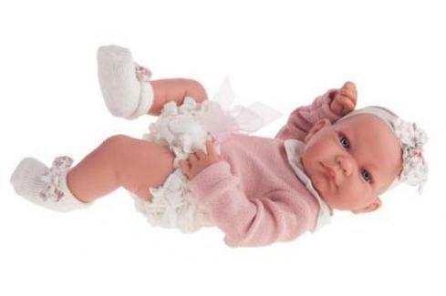 Кукла-младенец Munecas Antonio Juan Эмма 42 см мягкая 5096W Куклы Munecas Antonio Juan