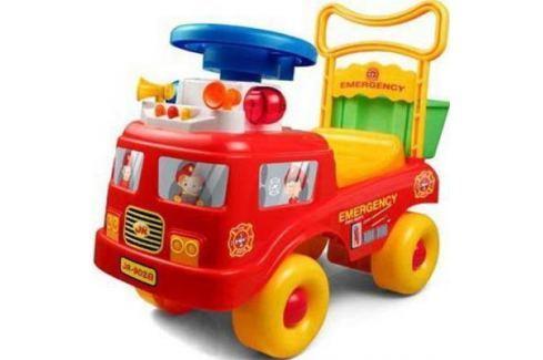 Каталка-машинка Shantou Gepai пластик от 3 лет на колесах красный JR902B Каталки-транспорт