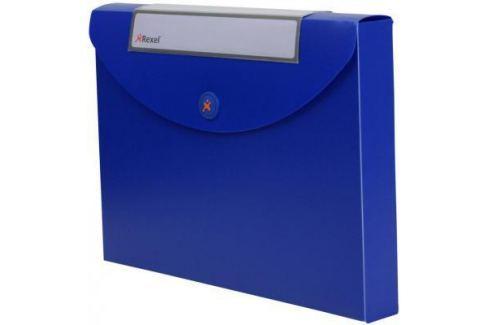 Папка Rexel Optima A4 40мм для документов пластик синий 2102482 Папки архивные, короба