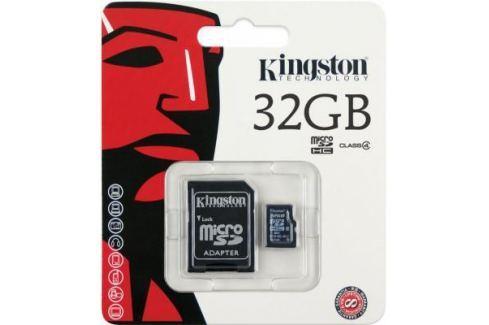 Карта памяти MicroSDHC 32GB Kingston Class4 <SDC4/32GB> Карты памяти
