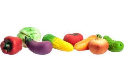 Набор игрушек Огонек Овощи 13.5 см С-799 Игрушки для купания