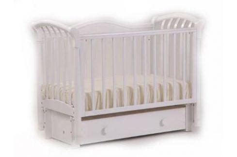 Кроватка с маятником Лель Азалия БИ10.3 (белый) Кроватки с маятником