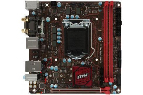 Материнская плата MSI H270IGAMINGPROAC Socket 1151 H270 2xDDR4 1xPCI-E 16x 4 mini-ITX Retail Материнские платы