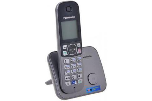 Радиотелефон DECT Panasonic KX-TG6811RUM серебристый DECT-телефоны