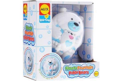 Пластмассовая игрушка для ванны ALEX Полярный медвежонок 11 см 841B Игрушки для купания