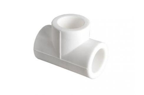 Тройник PPR 32мм Фитинги белые