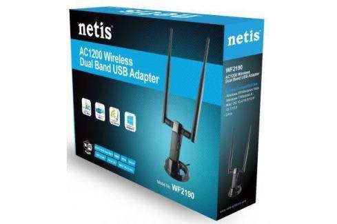 Беспроводной USB адаптер Netis WF2190 802.11ac 867Mbps 2.4/5ГГц Беспроводные USB адаптеры
