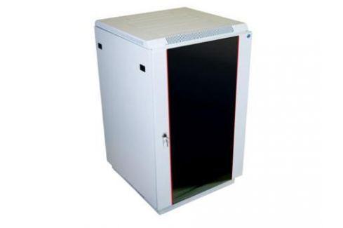 Шкаф напольный 22U ЦМО ШТК-М-22.6.10-1ААА 600x1000mm дверь стекло 3 коробки Серверные шкафы