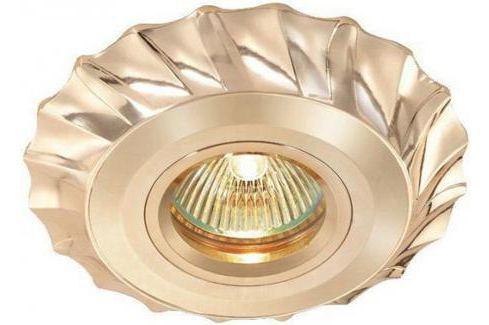 Встраиваемый светильник Novotech Vintage 369944 Светильники встраиваемые