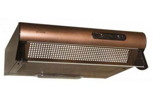 Вытяжка подвесная Elikor Davoline 60П-290-П3Л медный антик Крупная бытовая техника