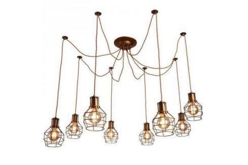 Подвесная люстра Arte Lamp 75 A9182SP-8BZ Люстры подвесные