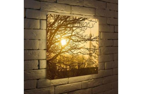 Лайтбокс Осенний туман 45x45-090 Светильники квадратные
