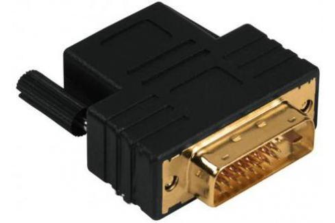 Переходник DVI-D-HDMI(f) Compact Dual Link Hama позолоченные контакты черный 122237 HDMI-DVI