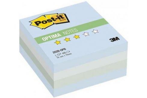 Бумага с липким слоем 3M 400 листов 76x76 мм многоцветный голубой 2028-OPB Блоки для записей