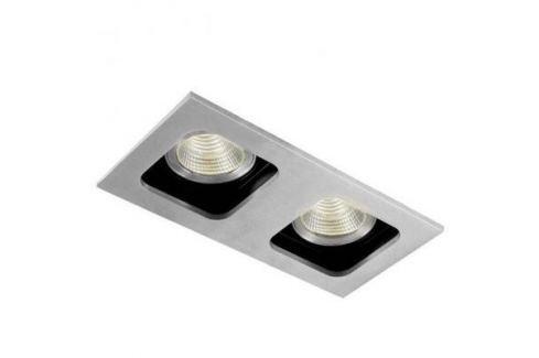 Встраиваемый светильник Donolux DL18614/02WW-SQ Alu/Black Светильники встраиваемые