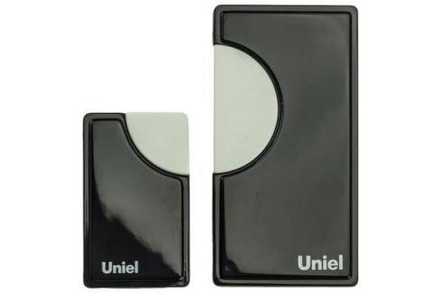Звонок дверной беспроводной Uniel черный UDB-002W-R1T1-32S-100M-BL Звонки