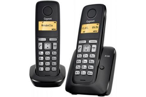 Телефон Gigaset А120 Duo Black (Dect, две трубки) DECT-телефоны