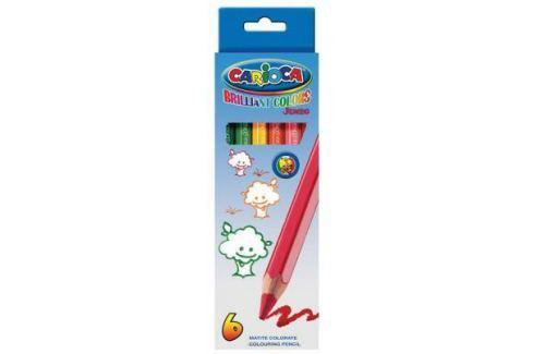 Набор цветных карандашей Universal Carioca Jumbo 6 шт односторонние 41407/6 41407/6 Карандаши