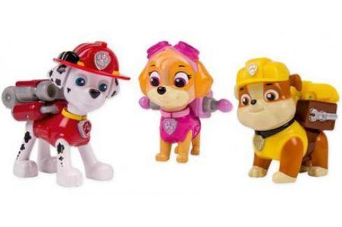 Игровой набор Paw Patrol 3 щенка с рюкзаком-трансформером от 3 лет 20067177 Игровые наборы для мальчиков